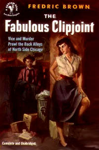 The Fabulous Clipjoint, by Fredric Brown