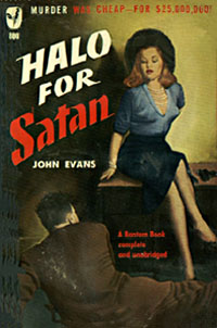 Halo For Satan, by John Evans