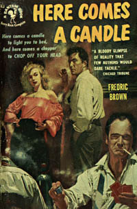 Here Comes a Candle, by Fredric Brown