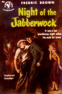 Night of the Jabberwock, by Fredric Brown